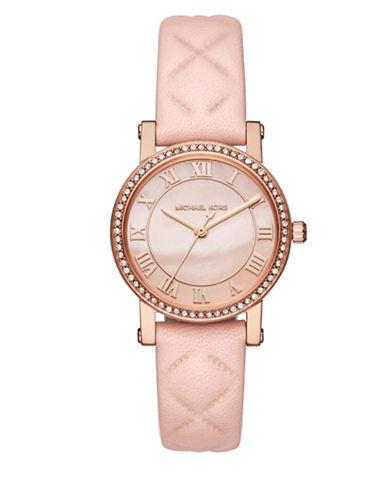 Michael Kors Petite Noirie Rose Goldtone Analog Bracelet Watch-ROSE GOLD-One Size