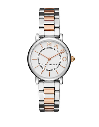 Marc Jacobs Roxy Two-Tone Stainless Steel Bracelet Watch-TWO TONE-One Size