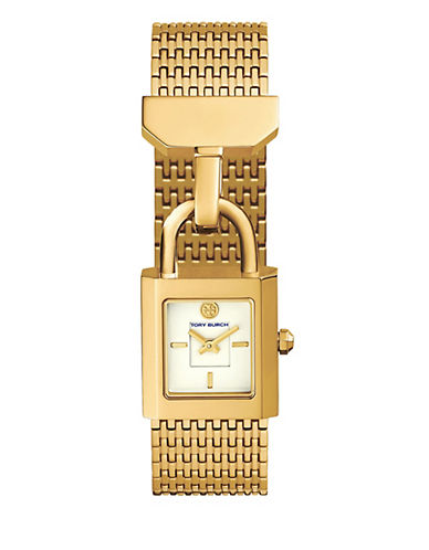 Tory Burch The Surrey Gold-Tone Stainless-Steel Watch-GOLD-One Size