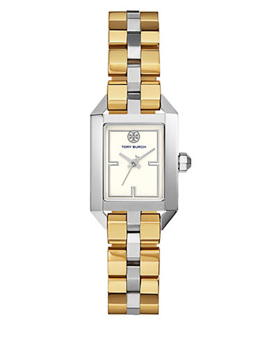 Tory Burch The Dalloway Stainless-Steel Two-Tone Watch-MULTI-One Size