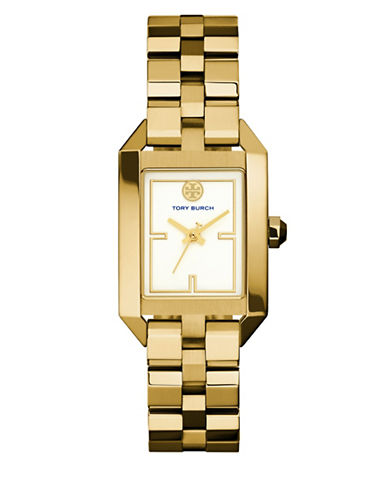 Tory Burch The Dalloway Stainless-Steel Gold-Tone Watch-GOLD-One Size