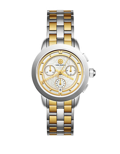 Tory Burch The Tory Two-Tone Stainless-Steel Chronograph Watch-MULTI-One Size