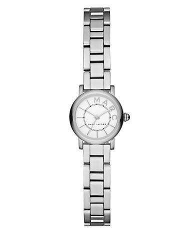 Marc Jacobs Analog Classic Stainless Steel Bracelet Watch-SILVER-One Size