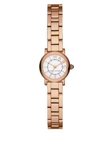 Marc Jacobs Analog Classic Goldtone Bracelet Watch-ROSE GOLD-One Size