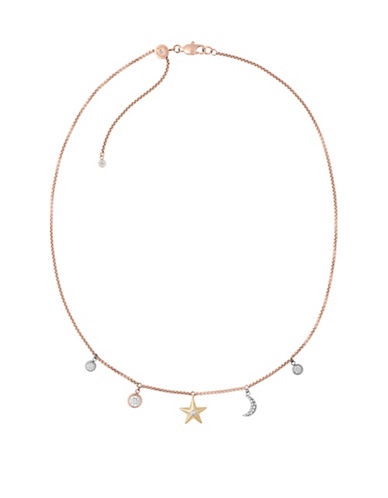 Michael Kors Beyond Brilliant Celestial Choker-GOLD-One Size