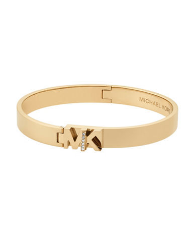 Michael Kors Studded Bangle Bracelet-GOLD-One Size