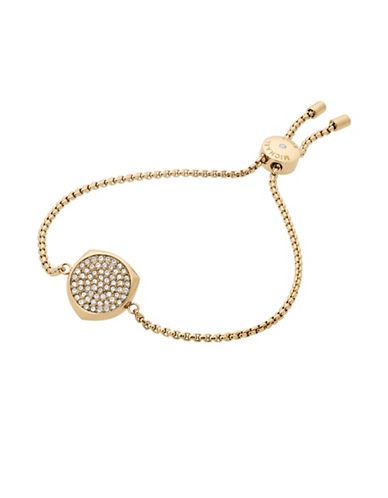 Michael Kors Beyond Brilliant Gold-Tone Bracelet-GOLD-One Size