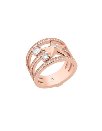 Michael Kors Crystal Beyond Brilliant Celestial Ring-ROSE GOLD-7