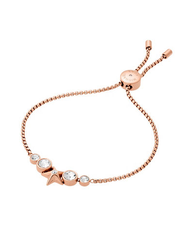Michael Kors Beyond Brilliant Celestial Chain Bracelet-ROSE GOLD-One Size