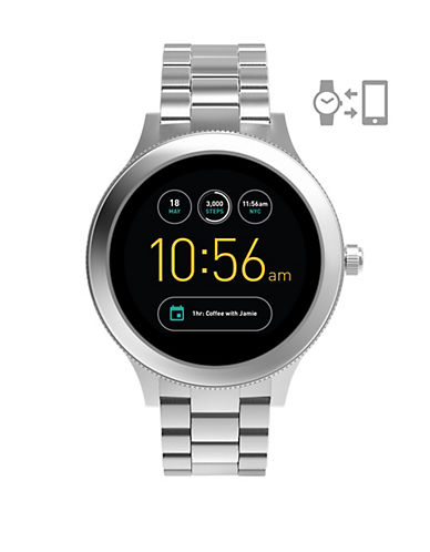Fossil Gen 3 Smartwatch - Q Venture Stainless Steel-SILVER-One Size