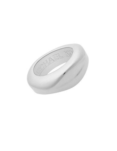 Michael Kors Runway Bracelet-SILVER-One Size