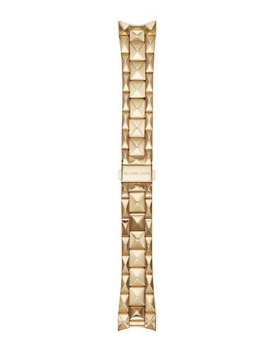 Michael Kors Bradshaw Goldtone Watch Bracelet-GOLD-One Size