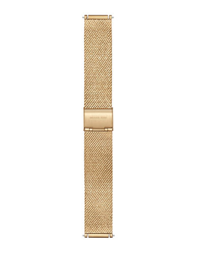 Michael Kors Sofie Goldtone Mesh Strap-GOLD-One Size