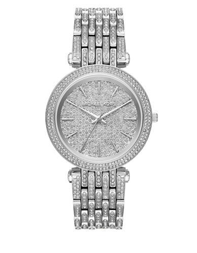 Michael Kors Darci Stainless-Steel Bracelet Watch-SILVER-One Size