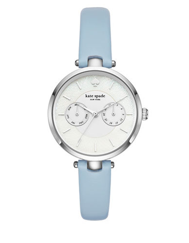 Kate Spade New York Holland New York Stainless Steel Strap Watch-BLUE-One Size