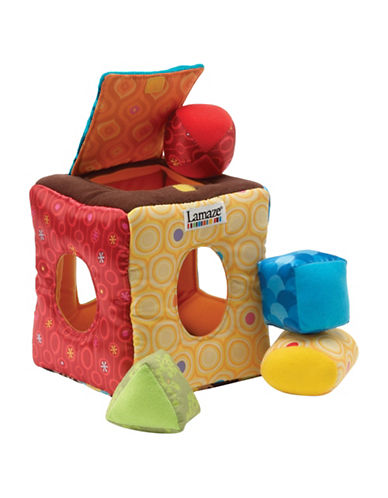 Lamaze Soft Sorter Cube-MULTI-One Size