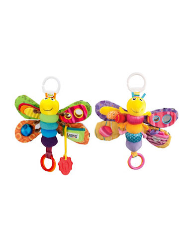 Lamaze Velour Firefly with Teether Assortment-MULTI-One Size