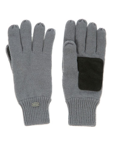 Pajar Knitted Gloves-GREY-One Size