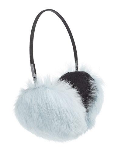 Pajar Mica Rabbit Fur Earmuffs-BLUE-One Size