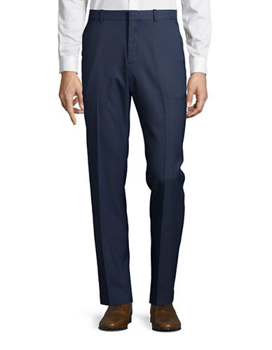 Perry Ellis Slim-Fit Trousers-BERING SEA-32X32