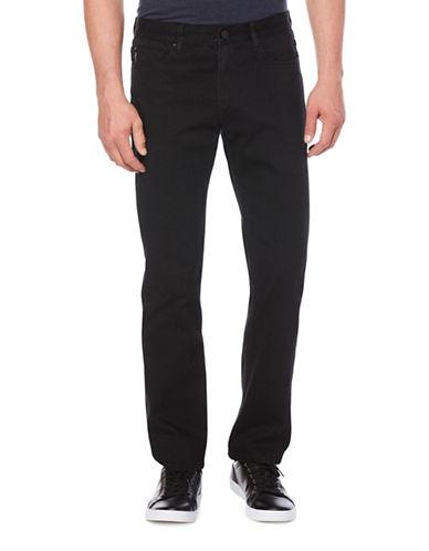 Perry Ellis Slim-Fit Selvedge Jeans-GREY-32X32