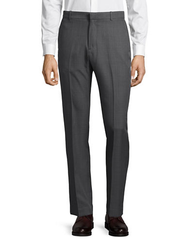 Perry Ellis Slim Portfolio Performance Trousers-GREY-32X32
