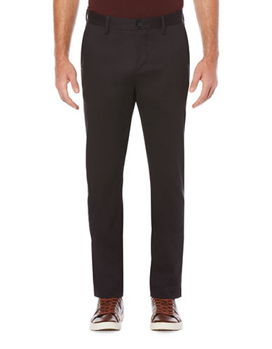 Perry Ellis Bedford Cord Pants-BLUE-38X32