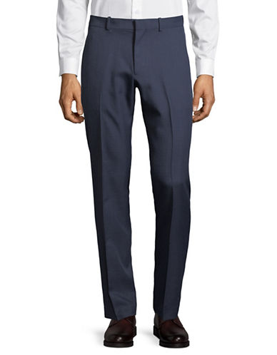 Perry Ellis Portfolio Dress Pants-PURPLE-36X34