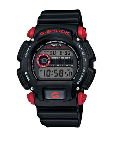Casio G Shock Digital Watch-BLACK-One Size