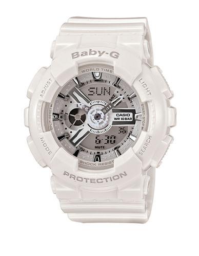 Casio Womens Analog Baby G Watch BA110-7A3-WHITE-One Size