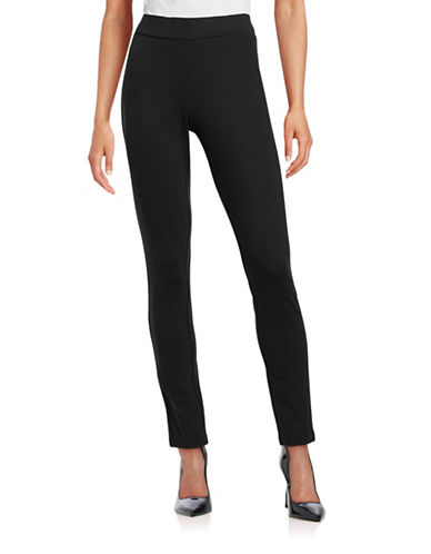 Nydj Slimming Fit Basic Leggings-BLACK-2