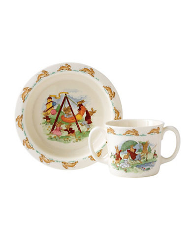 Royal Doulton Bunnykins By  Classic 2 Piece Baby Set-MULTI-COLOURED-One Size