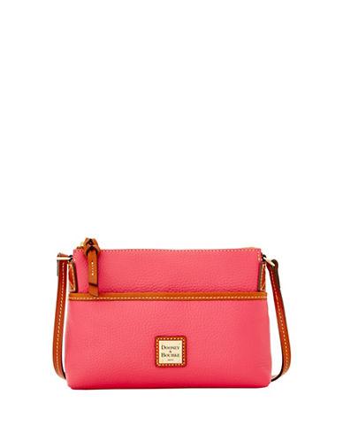 Dooney & Bourke Pebble Pouchet Crossbody Bag-HOT PINK-One Size