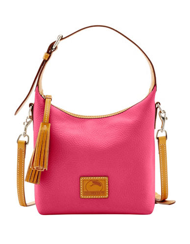 Dooney & Bourke Patternson Paige Leather Crossbody Bag-PINK-One Size