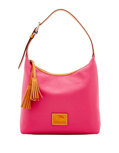 Dooney & Bourke Pattern Leather Paige Sac-PINK-One Size