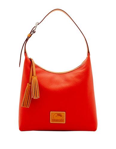 Dooney & Bourke Pattern Leather Paige Sac-ORANGE-One Size