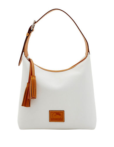 Dooney & Bourke Pattern Leather Paige Sac-WHITE-One Size