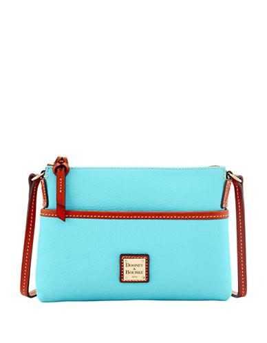 Dooney & Bourke Pebble Pouchet Crossbody Bag-LIGHT BLUE-One Size
