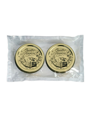 Bormioli Rocco Quattro Stagioni Large Jars Lids-GOLD-One Size