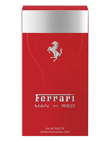 Ferrari Man In Red Eau de Toilette-NO COLOUR-50 ml