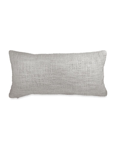 Dkny Loft Woven Cotton Cushion-GREY-One Size