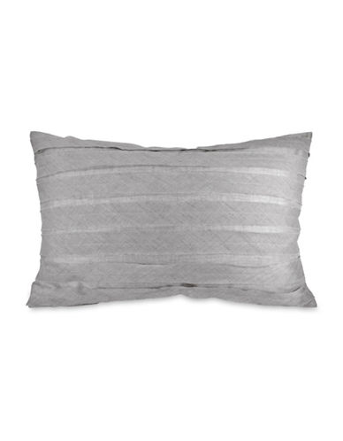 Dkny Loft Striped Cotton Sham-GREY-Standard