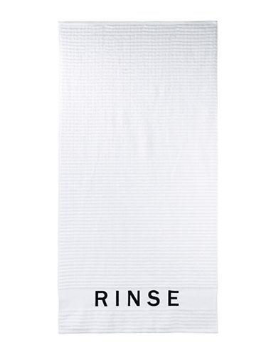 Dkny Chatter Cotton Bath Towel-WHITE-Bath Towel
