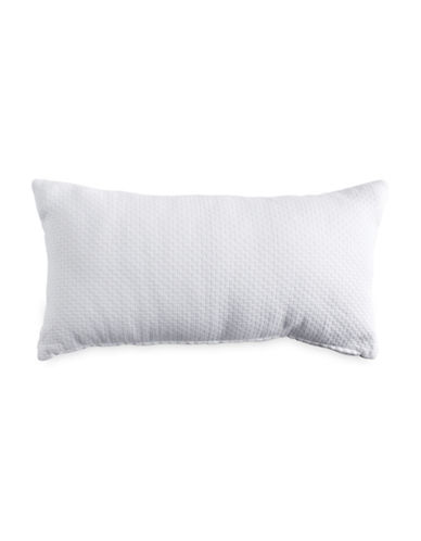 Dkny Pure Bricks Cotton Cushion-WHITE-One Size