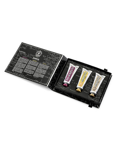 Marvis Three Flavour Toothpaste Gift Set Limited Edition-NO COLOR-One Size
