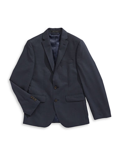 Lauren Ralph Lauren Glen Check Sports Jacket-BLUE-12