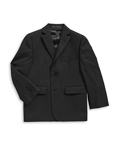 Lauren Ralph Lauren Twill Suit Jacket-BLACK-7