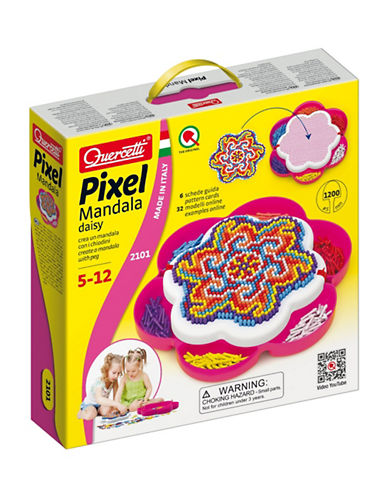 Quercetti Pixel Mandala Daisy Game-MULTI-One Size