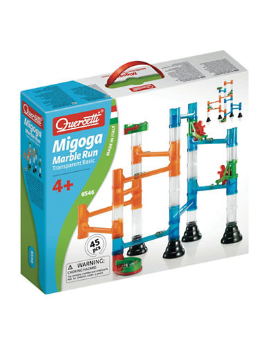 Quercetti Transparent Marble Run-MULTI-One Size