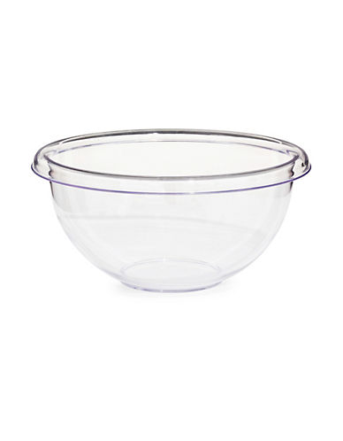 Guzzini Happy Hour Clear 11.75-Inch Salad Bowl-CLEAR-One Size